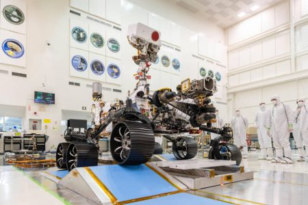 NASA's Mars Perseverance Rover Passes Flight Readiness Review
