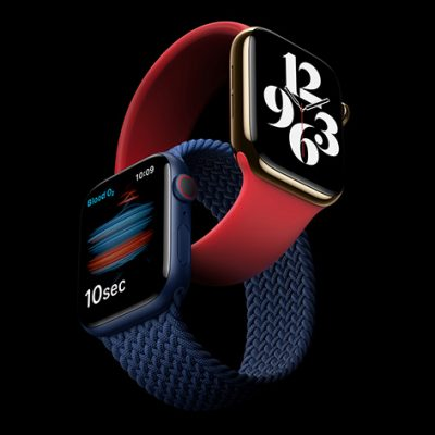 Apple Watch Series 6 With Revolutionary Blood Oxygen Sensor and watchOS 7
