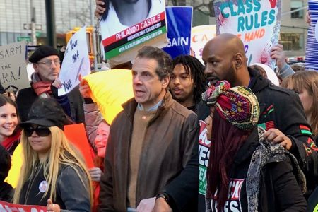 Governor Andrew Cuomo Named Grand Marshal Of 2020's Virtual New York Columbus Day Parade