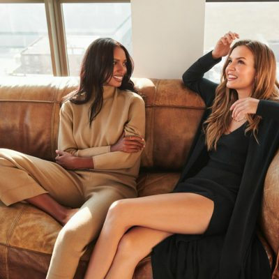 Jasmine Tookes and Josephine Skriver, Muses for Dynamite's Fall and Holiday 2020 Campaigns