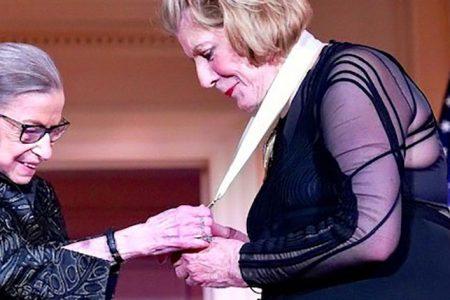 """The """"Justice Ruth Bader Ginsburg Woman of Leadership Award"""" Legacy"""