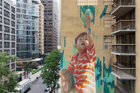 Kashi Joins Forces With United Nations And Street Art For Mankind On NYC Mural