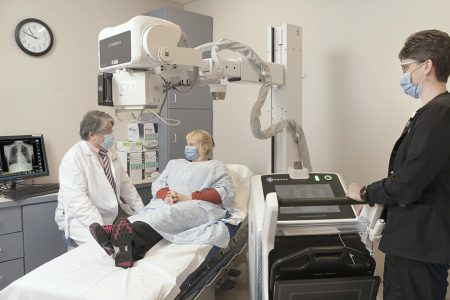 St. Luke's Lehighton Pioneers Artificial Intelligence in X-Rays