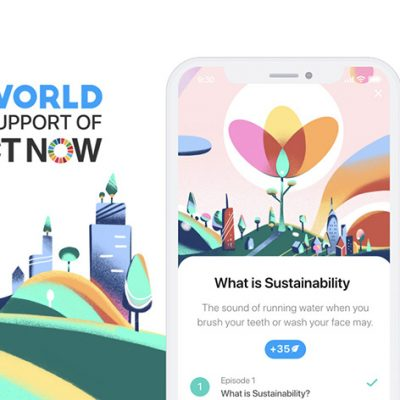 Sustainability Platform AWorld Launches Mobile App in Support of UN ActNow Campaign
