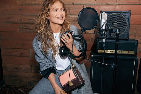 Coach x Jennifer Lopez Collaboration With Special-Edition Hutton Bag