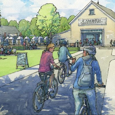 "Mike Mullins Proposes Tannery Park ""Affordable Industrial Eco-Village"" in Camden, Maine"