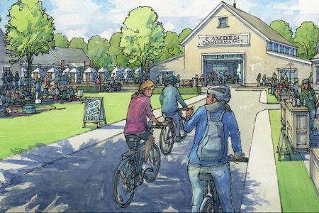 """Mike Mullins Proposes Tannery Park """"Affordable Industrial Eco-Village"""" in Camden, Maine"""