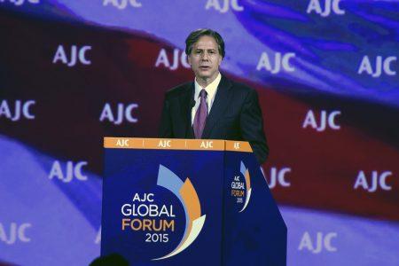 AJC Welcomes Nomination of Antony Blinken as Incoming U.S. Secretary of State