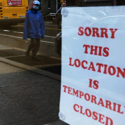 Almost Three-Quarters of Organizations Experienced Layoffs, Furloughs, and/or Facility Closures