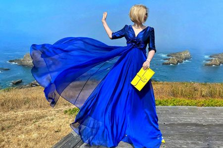 Lena Overcame Health Challenges to Become One of the Most Colorful Fashion Influencers You Have Ever Seen