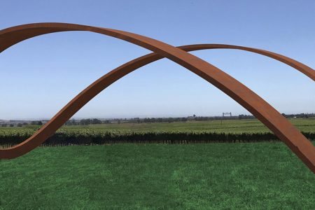 "Napa Valley's Newest Luxury Resort Adds Major ""Infinity"" Sculpture by Gordon Huether"