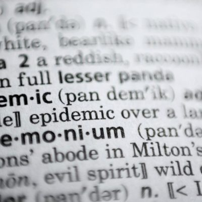 "Unprecedented Year Shapes New Language: DictionaryCom Names ""Pandemic"" 2020 Word of the Year"