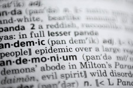 """Unprecedented Year Shapes New Language: DictionaryCom Names """"Pandemic"""" 2020 Word of the Year"""