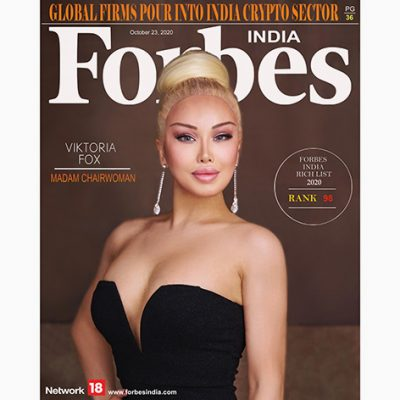 Viktoria Fox Lands the Cover of Forbes