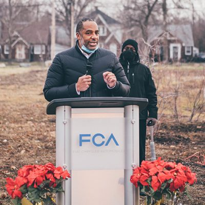 FCA Invests Nearly $700,000 To Re-Imagine Detroit's East Side Communities