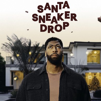 NBA Champion Anthony Davis Dropped 500 Pairs of Sneakers While Driving Santa's Sleigh – Santa Was Not Happy