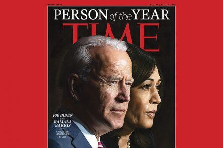 2020 TIME Person of the Year: Joe Biden and Kamala Harris