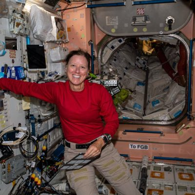 Young Students Send Questions to Astronauts Aboard Space Station
