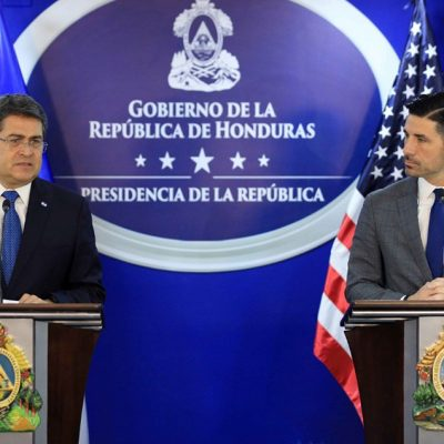 U.S. Department of State: Honduras Reduced Drug Traffic by 83% in the Last Six Years