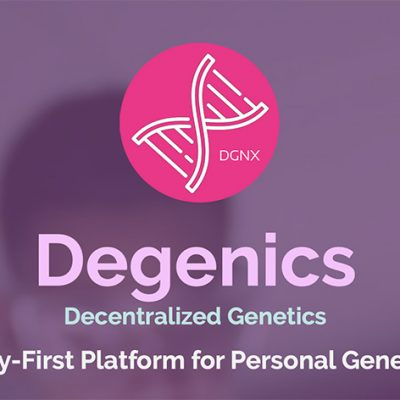 Degenics.com Aims to Provide Anonymous Personal Genetic Testing Through a Decentralized Blockchain Platform