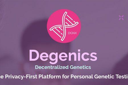 Degenics.com Aims to Provide Anonymous Personal Genetic Testing Through a Decentralized Blockchain Platform