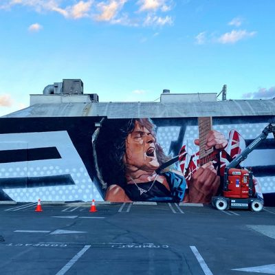 Guitar Center Celebrates the Life of Eddie Van Halen with a New Mural at Flagship Hollywood Store