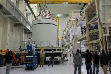 Lockheed Martin-Built Orion Spacecraft is Ready for its Moon Mission