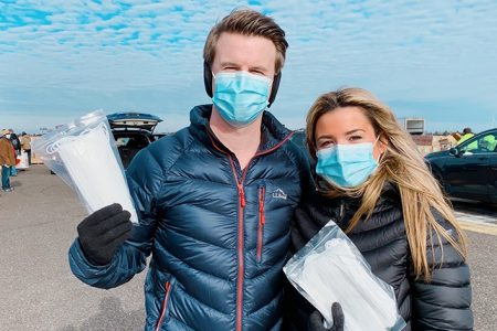 NJ Couple Donates 100K+ Masks Nationwide to Food Banks and Nonprofits
