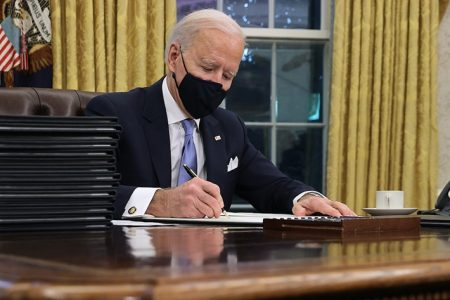 Biden Order Restoring Federal Workers' Union Rights