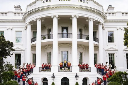 United States Marine Band Participates in Presidential Inauguration