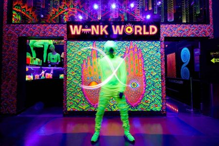 """Wink World: Portals Into The Infinite"" Opens at AREA15 in Las Vegas"