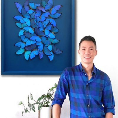 Tak Hau: From Wedding Designer to Insect Artist
