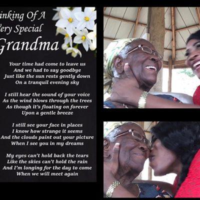 Mabelle Prior Mourns Her Beloved Grandma Adadzawa Dede Felicia