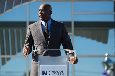 Michael Jordan Gifts $10M for Additional Novant Health Medical Clinics