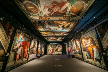 Michelangelo's Sistine Chapel Exhibition at Westside Cultural Arts Center