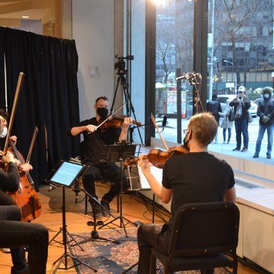 "Milstein Properties Supports Kaufman Music Center's ""Musical Storefront"" Series"