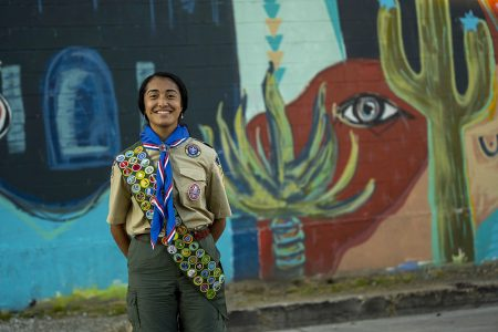 "Female Eagle Scouts' Contributions to Communities During the ""Be the Change"""