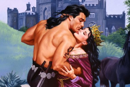 Original Romance Novel Paintings Featuring Fabio Hit the Market