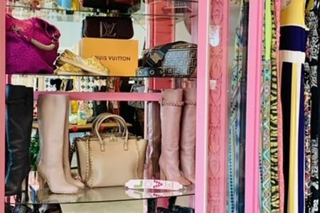Spaceballs To Sustainable Shopping: Rhonda Shear Opens (RE)TREAT Resale Boutique