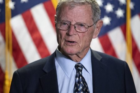 Sen. Inhofe and Rep. Speier Among Military Officers Association of America's Annual Award Winners