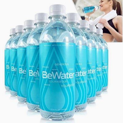 BE WATER by Greene Concepts (INKW) Creates Fresh New Label to Shake Up the Beverage Industry