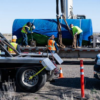 Canister Delivery to Strengthen Nuclear Storage Research