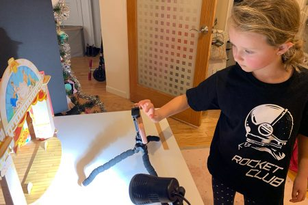 Eight-Year-Old Stop-Motion Artist Launches Carbon-Neutral NFT Series and Donates Over $1,000 to Charity