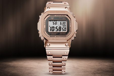 G-SHOCK Unveils First Ever Rose Gold Ion Plated Full Metal Timepiece