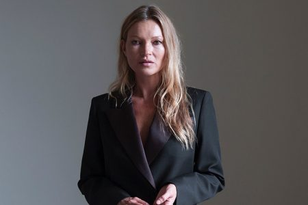 Self-Portrait Autumn Winter 2021 Pre-Collection Featuring British Supermodel Kate Moss