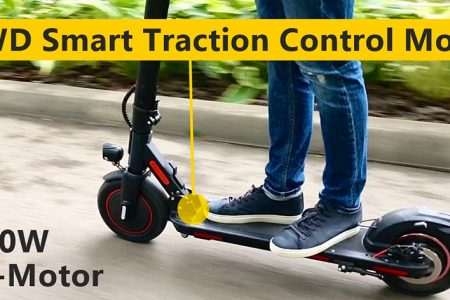 The World's First Electric Scooter LEOWAY 2WD With Innovative i-2WD Control Module