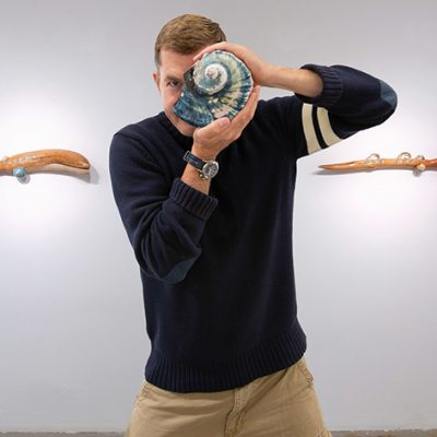 Surf and Science Collide With Fine Artist Justin Prough's Shallows Now Showing at TAG Gallery