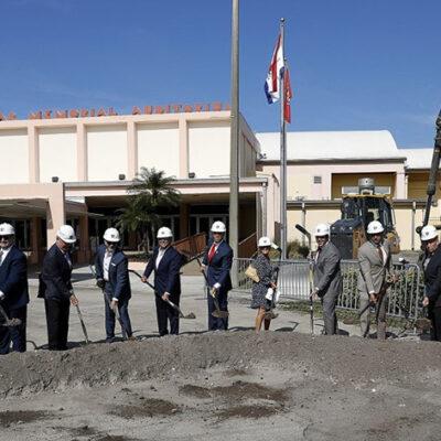 Florida Panthers Host Ceremonial Groundbreaking at Fort Lauderdale War Memorial