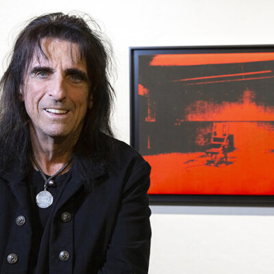 Rock Legend Alice Cooper Announces Arizona's Larsen Gallery as the Auction House to Sell His Rare Andy Warhol at October 23rd Art Auction
