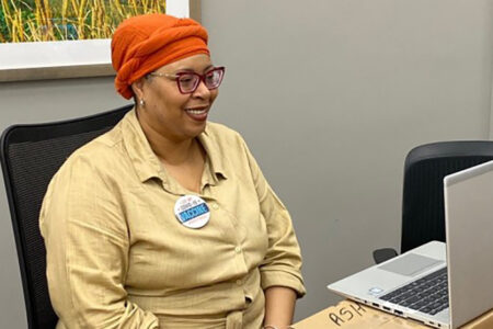 Rush University Medical Center Collaborates With Malcolm X College to Train COVID-19 Vaccine Ambassadors